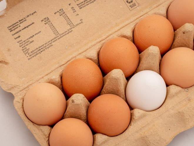 Упаковка куриных яиц